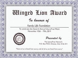 Winged Lion Awards